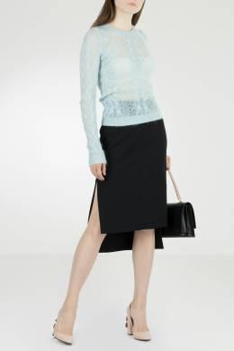 Черная юбка с разрезами No. 21 35165380