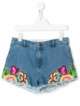 Stella McCartney Kids джинсовые шорты с вышивкой 566582SNK93
