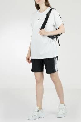 Белая футболка из хлопка No. 21 35165345