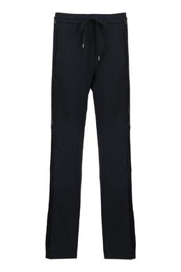 Черные брюки с лампасами No. 21 35165373