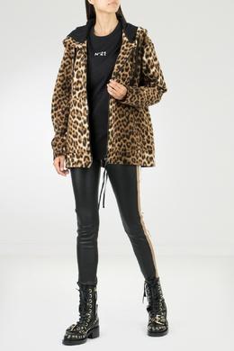 Худи с леопардовым принтом No. 21 35165369