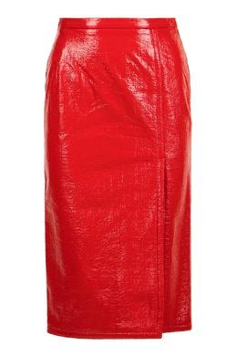 Красная блестящая юбка No. 21 35165382