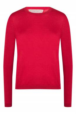 Красный базовый джемпер с отделкой Red Valentino 986165439