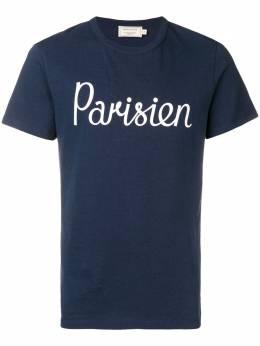 Maison Kitsune футболка Parisien AM00101KJ0008