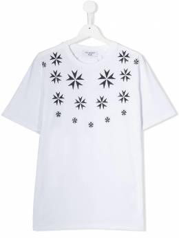 Neil Barrett Kids футболка с принтом KJT078020564