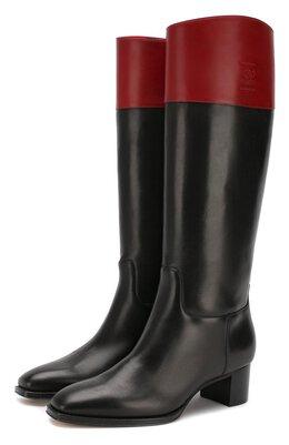 Кожаные сапоги Ralph Lauren 800782817