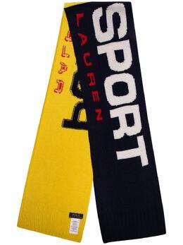 Polo Ralph Lauren шарф в стиле колор-блок с логотипом 449775948003