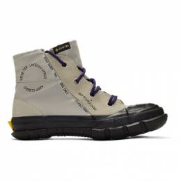 Converse Grey Chuck Taylor MC18 High-Top Sneakers 192799M25500105GB