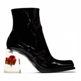 Maison Margiela Black Rose Heel Boots S39WU0146 P2944