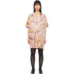 Raquel Allegra Pink Tie-Dye T-Shirt Dress Y96-4029TD