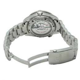 Omega Black Seamaster Planet Ocean Orange Aluminium Bezel Steel Men'S Watch 45.5MM 244114