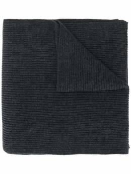 Polo Ralph Lauren шарф в рубчик с логотипом 710761417