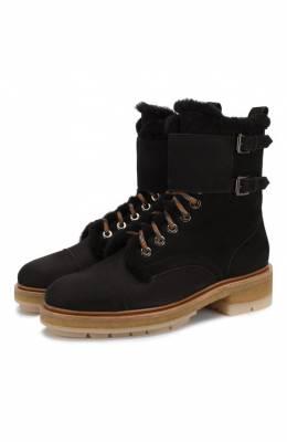 Кожаные ботинки Santoni WTAK58378PARAEYTN01