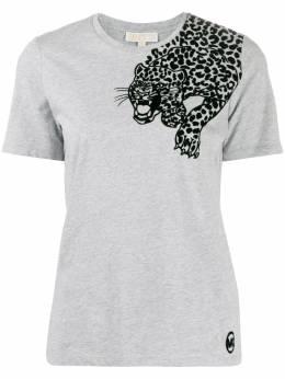 MICHAEL Michael Kors футболка с леопардовым принтом MF95MBD97J