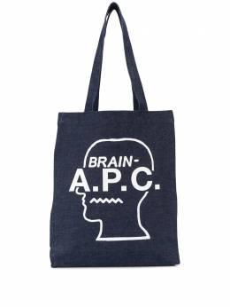 A.P.C. сумка-тоут Brain Dead CODDYM61398
