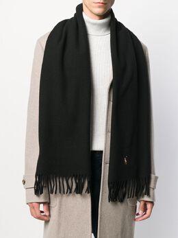 Polo Ralph Lauren шарф с вышивкой 449727530001