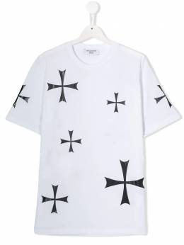 Neil Barrett Kids футболка с принтом 020560
