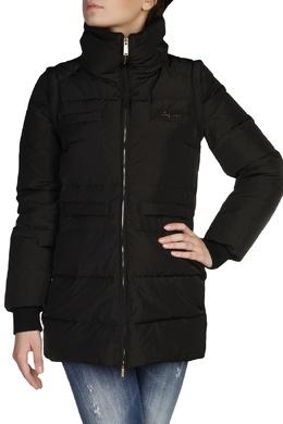 Черная куртка с высокой горловиной Dsquared2 1706164855