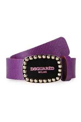 Фиолетовый ремень с черной пряжкой Dsquared2 1706164809