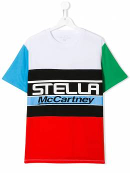 Stella McCartney Kids футболка с принтом логотипа 539764SMJ41