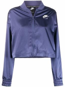 Nike атласная куртка-бомбер с логотипом BV4779