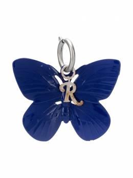Raf Simons butterfly-shaped keyring 192970