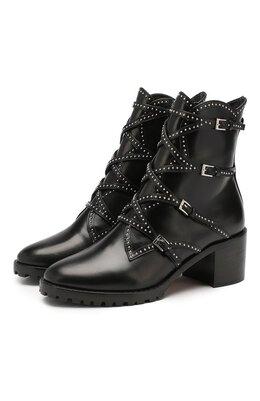 Кожаные ботинки Alaia 9H3T451CE57