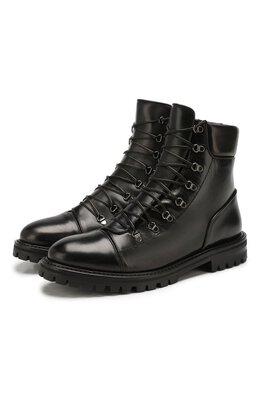 Кожаные ботинки Alaia 9H3T452CL33