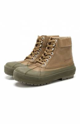Кожаные ботинки Les Meuniers Jacquemus 193F012/43550