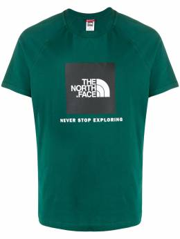 The North Face quote print t-shirt NF0A3BQON3P1
