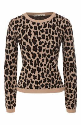 Шерстяной пуловер Alice + Olivia CC909S67706