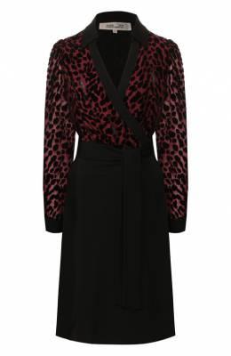 Платье из смеси вискозы и шелка Diane Von Furstenberg 13521DVF