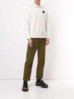 Kent & Curwen рубашка-поло с длинными рукавами K40H8A116051