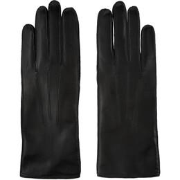 Ann Demeulemeester Black Leather Joris Gloves 192378M13500102GB
