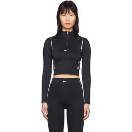 Nike Black HyperWarm Half-Zip Pullover BV5669-010