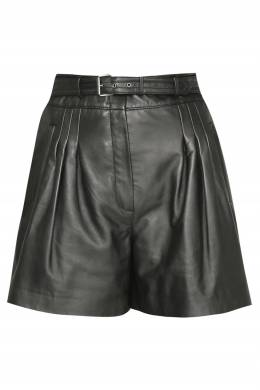Кожаные шорты с ремнем Alberta Ferretti 1771163273