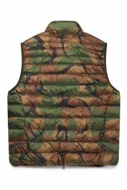 Стеганый жилет защитной расцветки Polo Ralph Lauren 3023165645