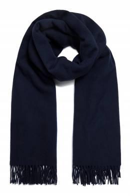 Синий шарф с бахромой Acne Studios 876165630