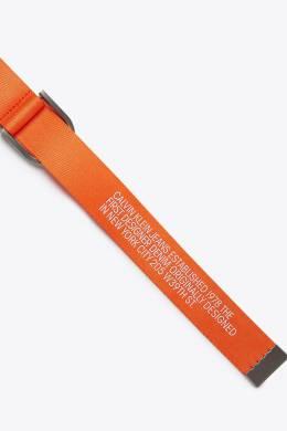 Оранжевый ремень с надписями Calvin Klein 596165687