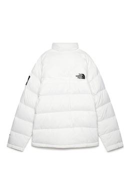 Белый пуховик с логотипом The North Face 2717165708