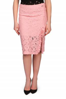 Розовая юбка-карандаш из гипюра Liu Jo 1776165867