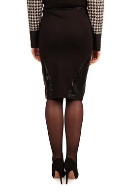 Черная юбка-карандаш с отделкой Liu Jo 1776165797
