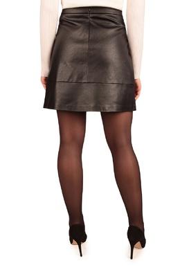 Черная кожаная мини-юбка Liu Jo 1776165820