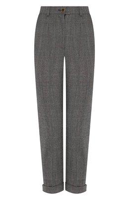 Шерстяные брюки Dolce&Gabbana FTBDAT/FQBBK