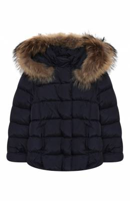 Пуховая куртка с капюшоном Il Gufo A19GM237N0031/10A-12A