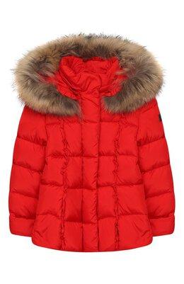Пуховая куртка с капюшоном Il Gufo A19GM308N0031/10A-12A
