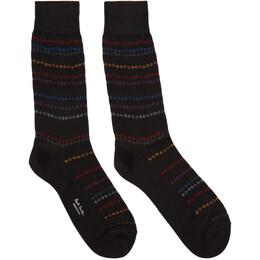 Paul Smith Black Chains Trip Socks 201260M22012101GB