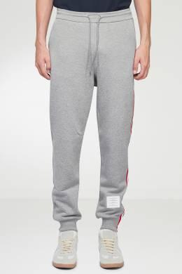 Серые брюки с лампасами Thom Browne 2875165515