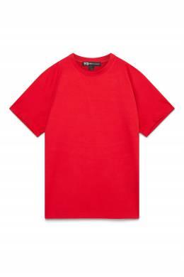 Красная футболка с логотипом сзади Y-3 1044166180