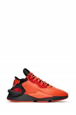 Оранжевые кроссовки Y-3 1044166193